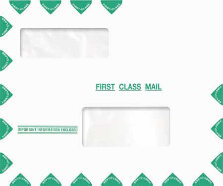 Great Tax Compatible Window Envelope-Moisture Seal MDPEN14