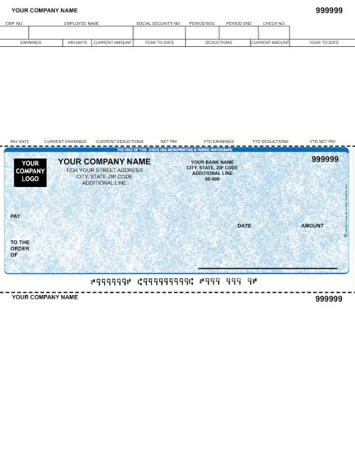 Peachtree Classic 12.0 Payroll Check MD7200