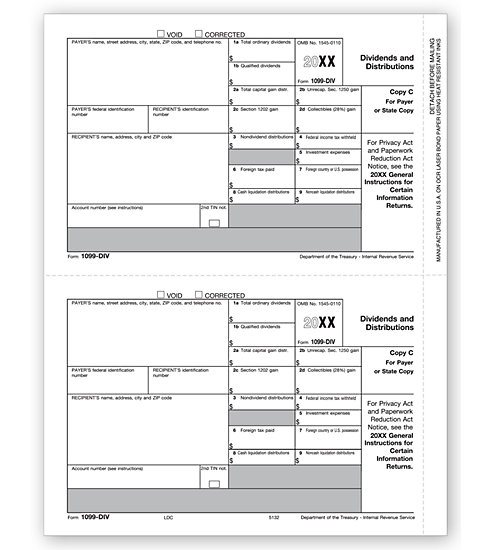 1099-DIV Income 2UP Individual Sheets State Copy C MDTF5132