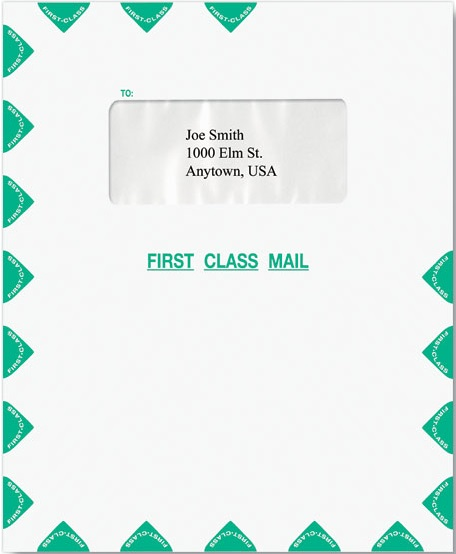 First Class Single Window Envelope-Moisture Seal MDPEI35