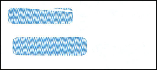 Dual Window Self Seal Check Envelope MD938SS
