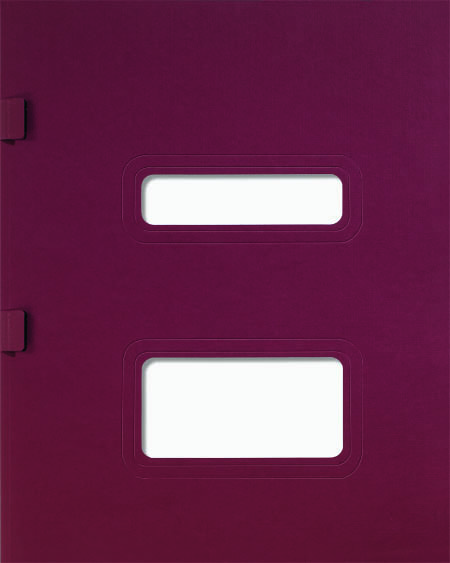 TaxSlayer Tax Folder Burgundy MDSFBU06