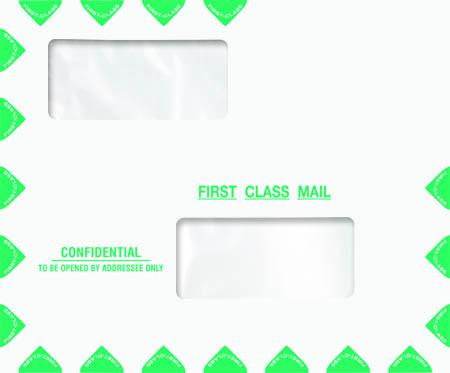 Great Tax Compatible Window Envelope-Moisture Seal MDPEM13