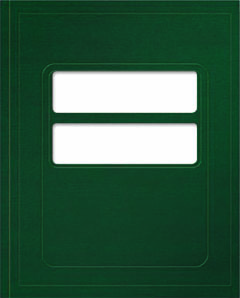 1040 Compatible Tax Folder Emerald Green MDFG04